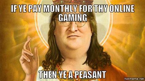Peasant Meme - our savior and lord gaben memes