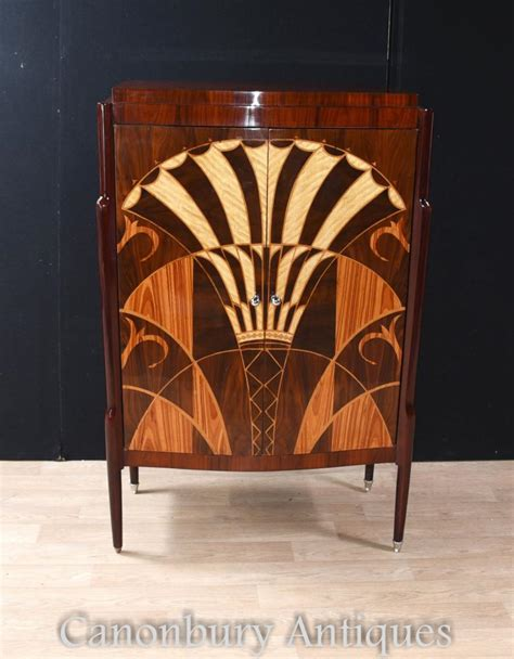 art deco drinks cabinet art deco cocktail cabinet drinks chest inlay furniture