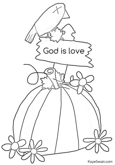 Christian Autumn Coloring Pages by Autumn Joys Include Swimming Grandkids Crafts And More
