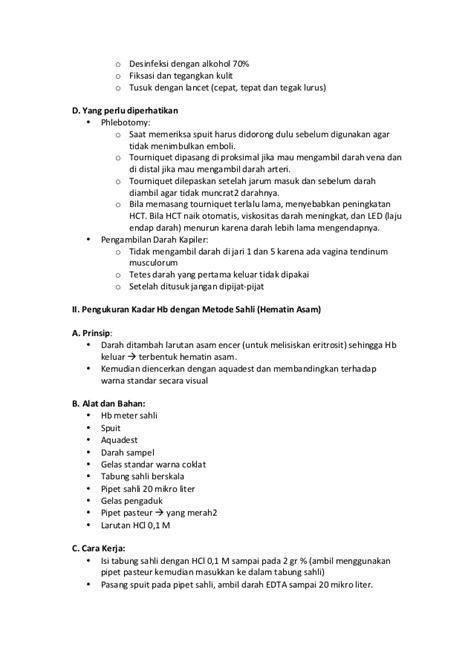 Lancet Jarum Tusuk praktikum patologi klinik semester 4 angkatan 2012