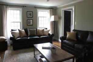 Living Room Ideas With Black Sectional Decorating With Black Leather Couches My House