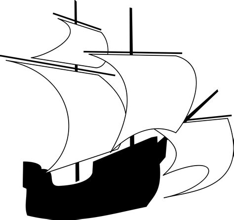 boat clipart outline boat outline clipart clip art images 17523