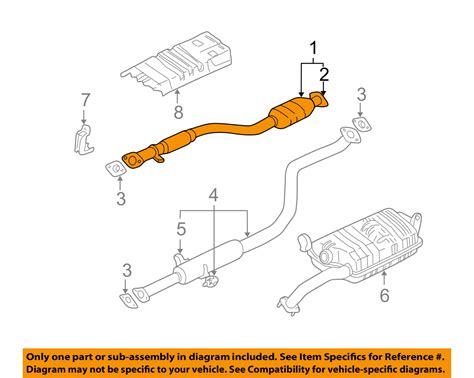 muffler diagram 6 0l exhaust diagram 6 free engine image for user manual