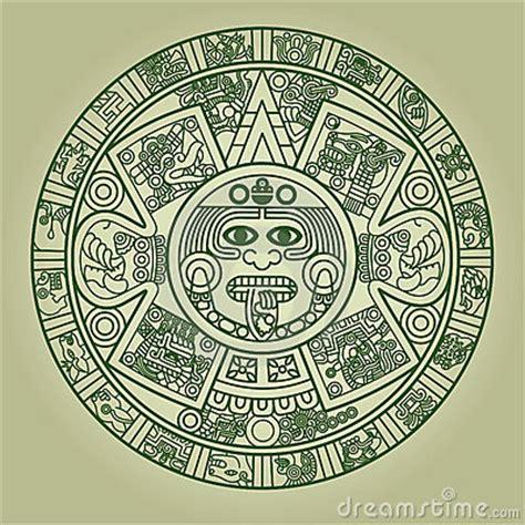 Calendario Azteca Animales Calendario Azteca Estilizado Imagenes De Archivo Imagen