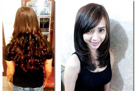 Sambung Rambut Di Salon Medan rambut layer traf nge hits di 2015 harian medanbisnis