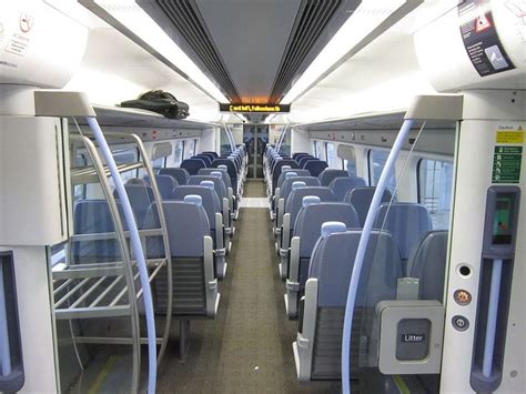 Southeastern Interiors by Rail Class 395 Standard Class Interior Aboard