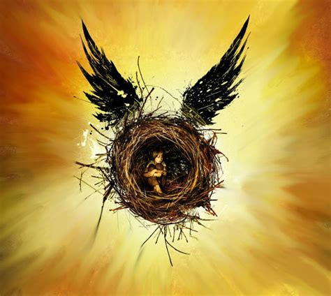 harry potter what does the cover art of cursed child