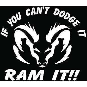 Window Decals Dodge Ram by Dodge The Ram The Window