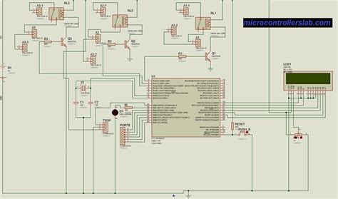 tv remote controlled home automation system using pic