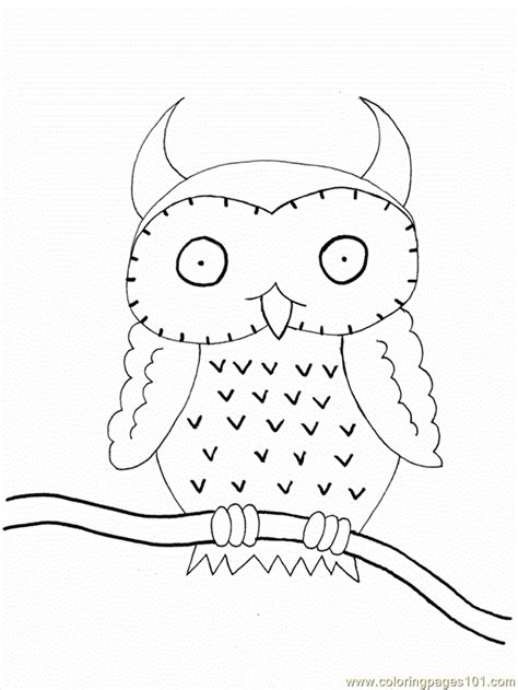 free coloring pages of snowy owls