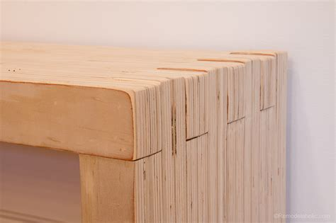 diy plywood bench remodelaholic diy modern plywood bench tutorial half