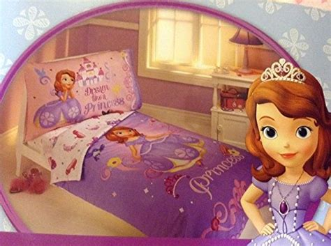 sofia the first toddler bed set new girls disney princess sofia the first 4pc toddler