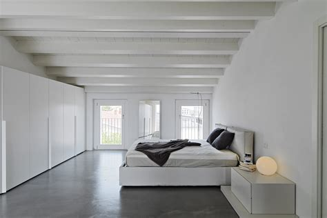 modern concrete floor finish in bedroom in camarillo ca moderne slaapkamer idee 235 n inspiratie