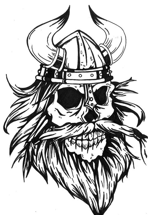 viking skull tattoo designs tatoos on viking tattoos vikings and norse