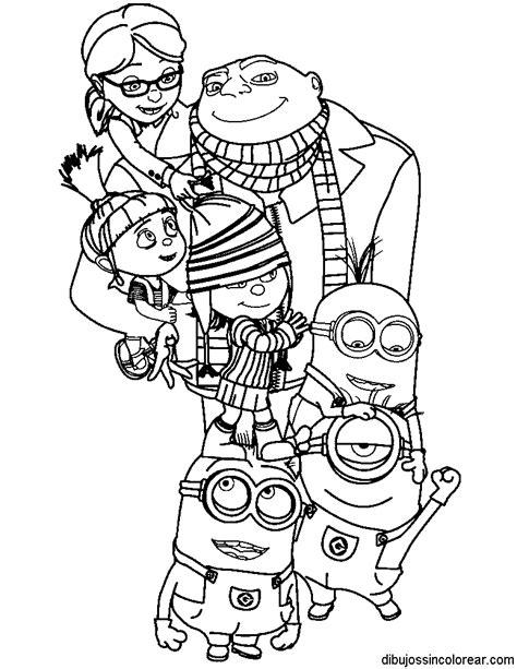 html imagenes agrandar dibujos de personajes de gru mi villano favorito para colorear