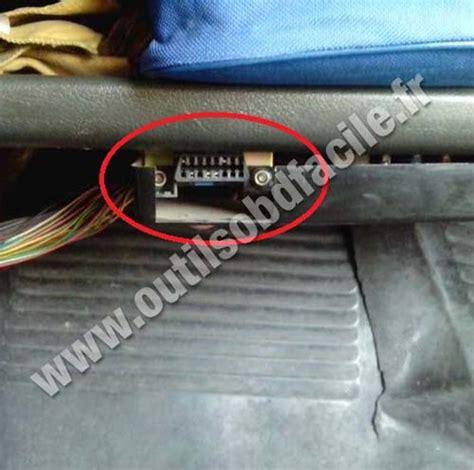 lada scanner obd2 connector location in lada samara outils obd facile