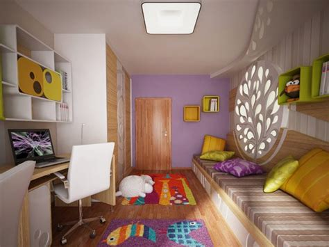 Childrens Bedroom Interior Design Ideas Colorful Bedroom Design Featuring Light Decorative Objects By Neopolis Home Building