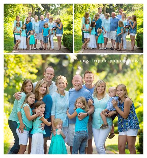 family picture clothes by color series greens portrait 91 extended family picture clothing ideas big family