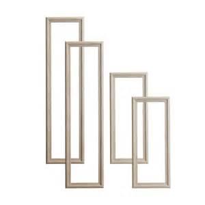 Pine 4 panel door moulding kit departments diy at b amp q