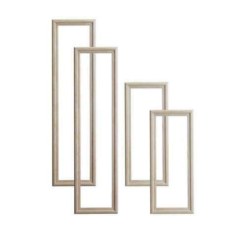 decorative door molding kits pine 4 panel door moulding kit departments diy at b q