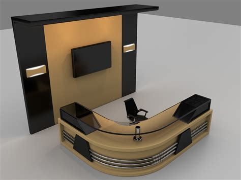 reception table and chairs modern office reception desk portable office counter table