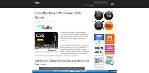 web layout design best practices responsive design best practices ugurus