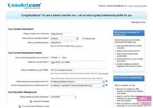 how to register on naukri com 8 steps with images quehow upload resume for job in naukri bestsellerbookdb