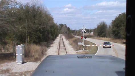 Railroad Crossing L Base by Shaw Air Base Railroad Cab Ride