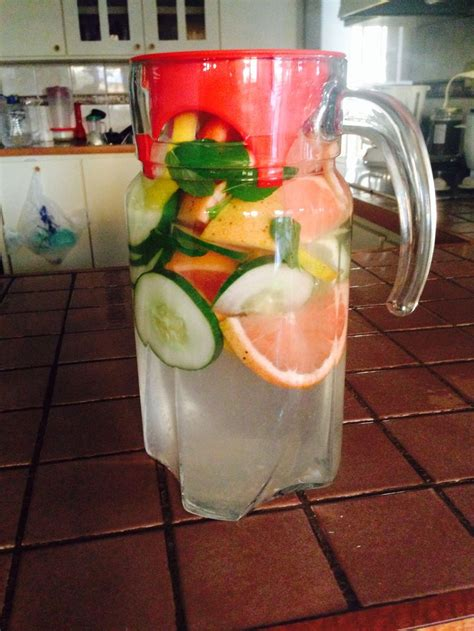Liver Detox Drink Lemon Cucumber detox water cleanse your liver with this water just add