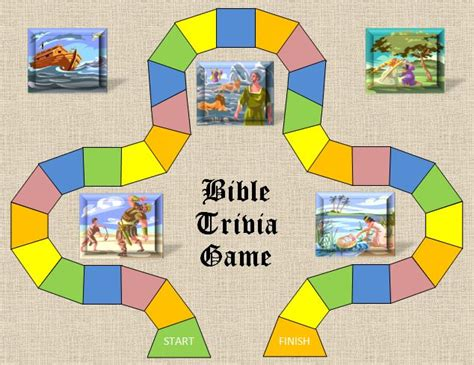 printable bible board games printable bible trivia questions