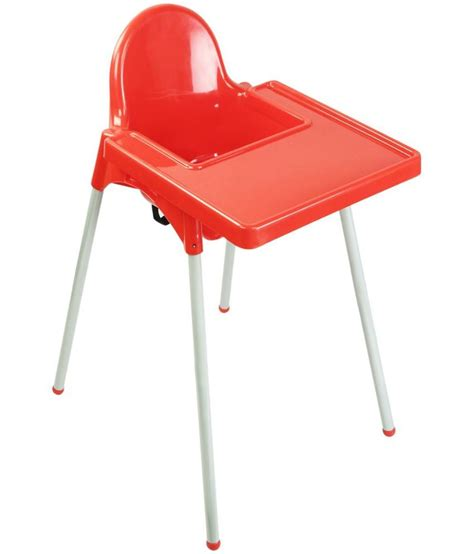 oye and white plastic high chair buy oye and