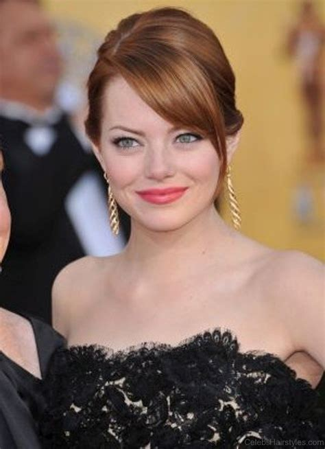 emma stone updo hairstyles 41 cute hairstyles of emma stone