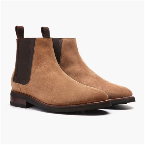 Safety Low Boots River Black Rk483 s honey suede duke chelsea boot thursday boot company