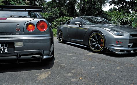 nissan skyline r34 modified modified cars nissan gt r r34 and nissan gt r r35 torque