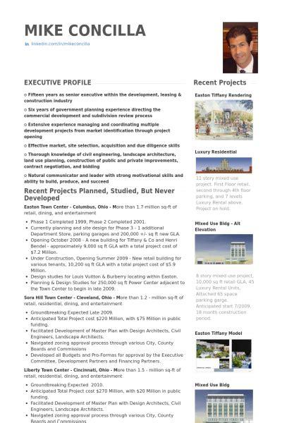 real estate resume sles visualcv resume sles database