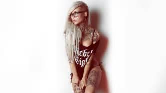 Tattoo Girl Wallpaper - QyGjxZ Girl