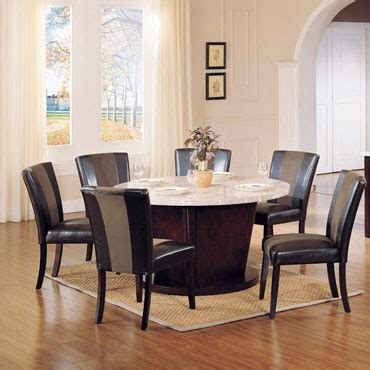 genuine marble top dining table hahn collection 6 genuine marble top dining table