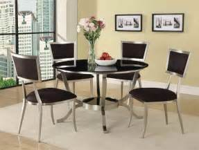 dining room contemporary round glass dining table glass