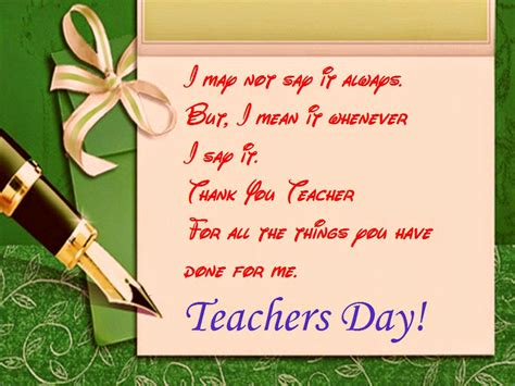 card on day special day for the appreciation of teachers festival chaska