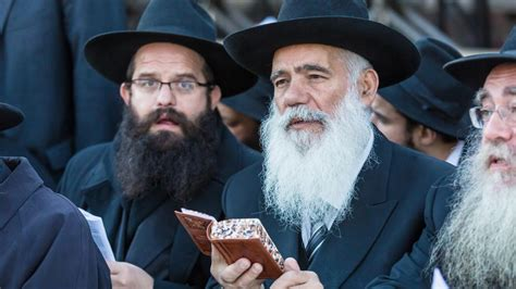 hasidic jewish men hair commentary a bridge between the strong and the weak
