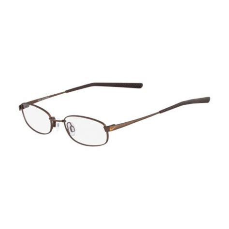 Frame Nike 7106 Fashion Unisex nike unisex eyeglasses 4630 241 satin walnut oval