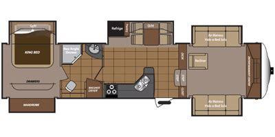 montana rv floor plans 2013 keystone rv montana mountaineer edition 375flf floorplan prices values specs nadaguides