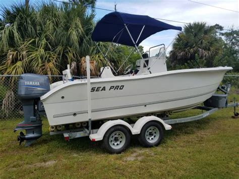 bay boats for sale treasure coast 2003 sea pro 220cc 14999 palm bay boats for sale