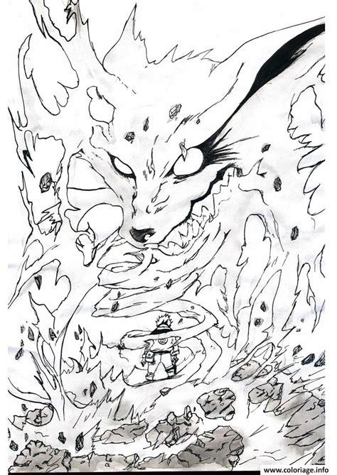 Dessin De Naruto Kyubi A Imprimer L