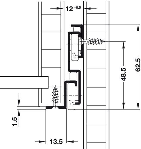 schublade bodenmontage rollenf 252 hrung vollauszug tragkraft bis 50 kg stahl