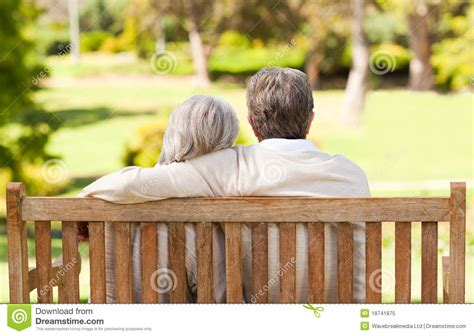 lovers on a park bench lovers on the bench royalty free stock photo image 18741875