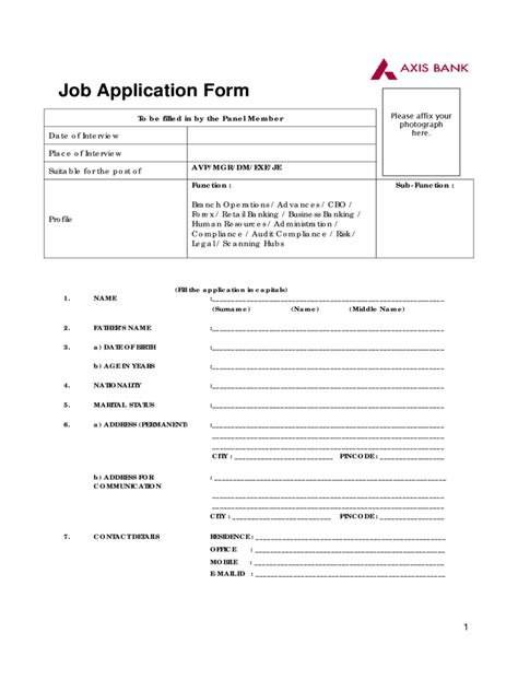 application for employment as a banker bank application form 5 free templates in pdf word