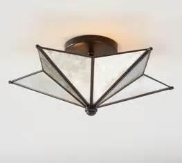 moravian ceiling light moravian flushmount pottery barn lighting