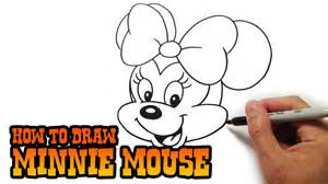 pics photos pictures draw minnie mouse fun drawing lessons kids adults