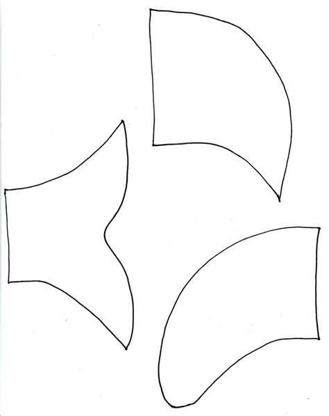 card board shark template paper plate shark template images patterns